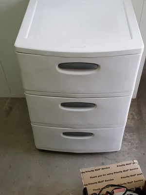 Plastic dressers for Sale in Lakewood, CO