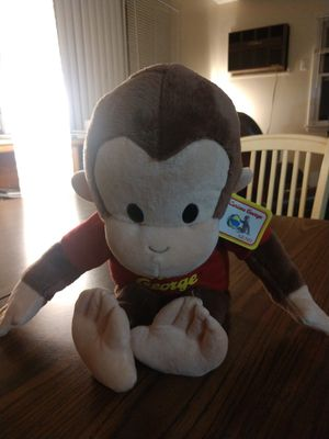 Curious George stuffed animal for Sale in Madison, WI