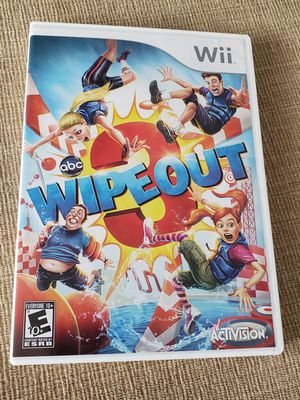 Wipeout 3 (Nintendo Wii, 2012) ABC Show - Complete with Manual for Sale in Chambersburg, PA