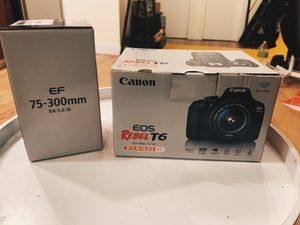 canon rebel t6 bundle for Sale in Brooklyn, NY