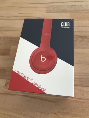 Beats Solo 3 Wireless - Club Red - Brand New in Box! for Sale in San Diego, CA