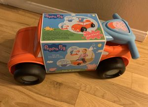 Peppa Pig Push and Scoot Car for Sale in Whittier, CA