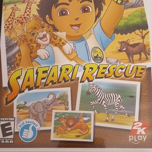 GO DIEGO GO! SAFARI RESCUE (Nintendo Wii + Wii U) for Sale in Lewisville, TX