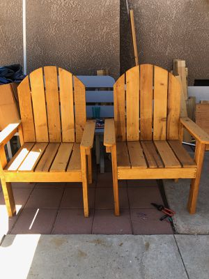 Wooden chairs for Sale in Selma, CA