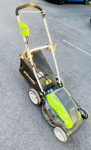 Greenworks 21-Inch 13 Amp Corded Lawn Mower for Sale in Sanford, ME