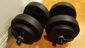 Adjustable 30 pound weights for Sale in Culver City, CA