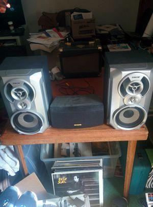 SPEAKERS (3) SONY (2) AIWA (1) for Sale in Virginia Beach, VA