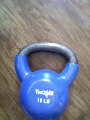 Kettle bell 15 lbs for Sale in Westminster, CA