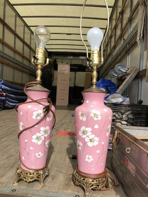 Antique lamps excellent condition for Sale in North Haven, CT