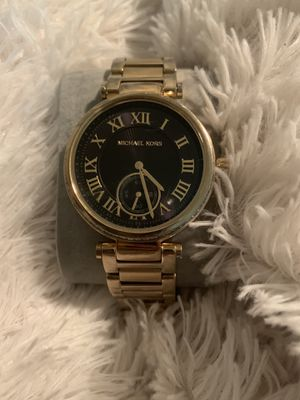 Black and Gold Michael Kors Women's Watch for Sale in Oxon Hill, MD