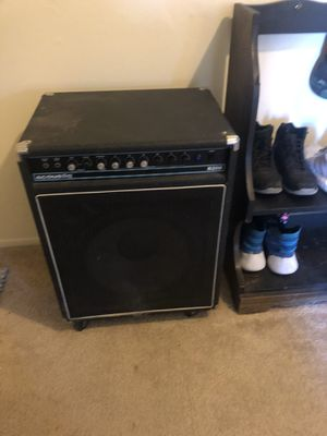 Acoustic bass amp for Sale in Livonia, MI