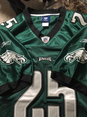 PHILADELPHIA EAGLES #25 LESEAN MCCOY REEBOK NFL FOOTBALL JERSEY MENS HEAVY-52 for Sale in Lorton, VA