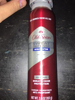 Old Spice Sweat Defense 48 Hour Dry Spray for Sale in Keller,  TX