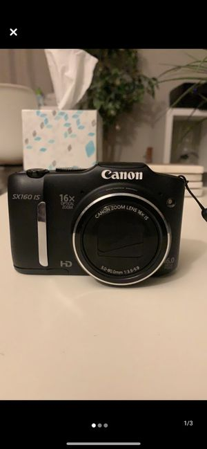 Canon SX160 IS Camera for Sale in Denver, CO