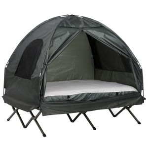 Extra Large Compact Pop Up Portable Folding Outdoor Elevated All in One Camping Cot Tent Combo Set for Sale in LUTHVLE TIMON, MD