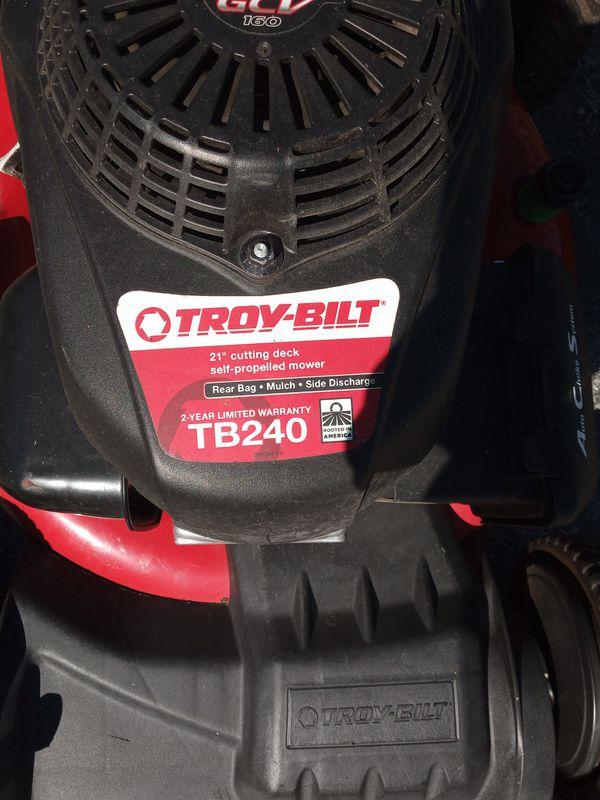 Honda Troy-Bilt automatic lawn mower for Sale in Carol ...