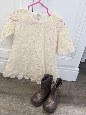 Flower girl/fall dress Sz. 12-18 months for Sale in El Cajon, CA