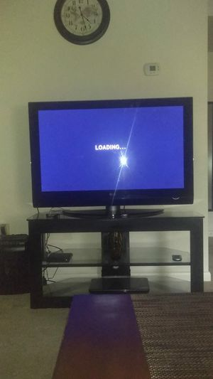 LG TV with stand for Sale in Knoxville, TN