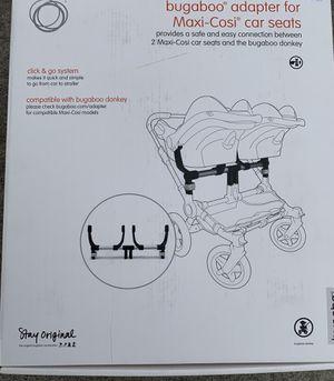Bugaboo Donkey Maxi Cosi car seat adapter for Sale in Kalamazoo, MI