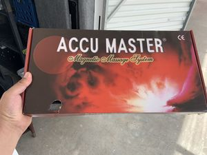 ACCUMASTER MAGNETIC MASSAGE SYSTEM for Sale in Miami, FL