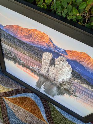 Fine art photography, framed art, Mono Lake Tufa for Sale in Ontario, CA
