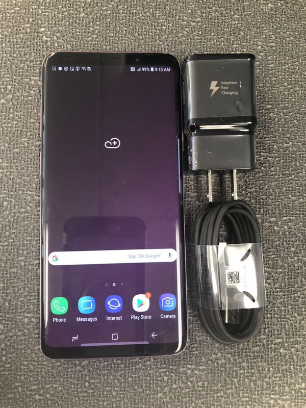 Samsung galaxy s9 plus unlocked, sold with receipt and store warranty