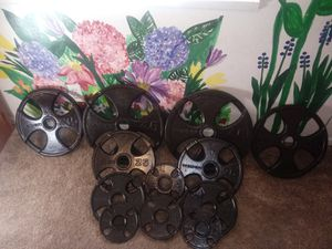 Olympic Weights 245 pounds set for Sale in Ontario, CA