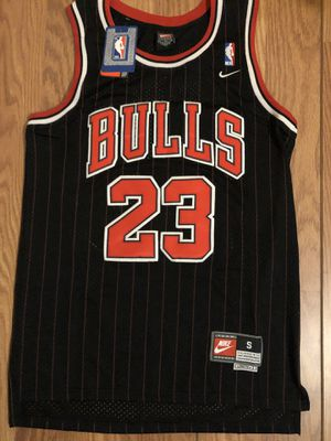Michael Jordan Chicago Bulls Men's Black Jersey SMALL MEDIUM LARGE XL 2XL SHIPPING!!! for Sale in Lawndale, CA