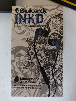 Skull Candy Ink'd Earbuds + Mic for Sale in San Diego, CA