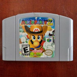 Mario Party 2 For N64 for Sale in Houston, TX