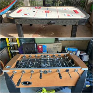 Foosball table and air hockey table for Sale in San Diego, CA