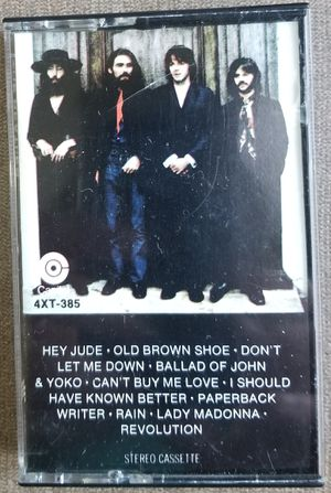 The Beatles Hey Jude Capitol 4XT-385 cassette tape for Sale in Three Rivers, MI