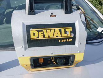 2 Dewalt 1650Watt Heaters. 150$ For Both for Sale in Milwaukie,  OR