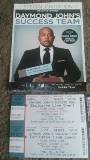 Daymond John Tickets for Sale in Durham, NC