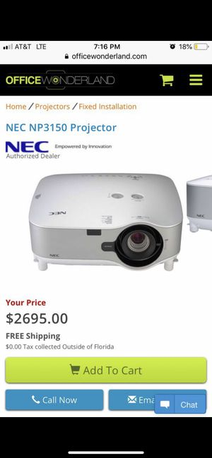 NEC projector for Sale in Wichita, KS