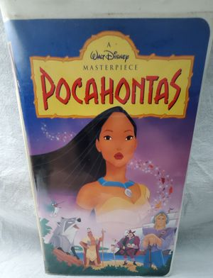 Disney's Pocahontas Masterpiece Collection VHS 1996 for Sale in Cooper City, FL