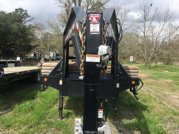40FT Flatbed Gooseneck trailer 2018