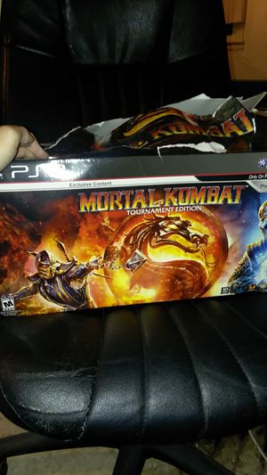 7e64d74656 PS3 Mortal Combat tournament edition fight stick with add-on downloads for  Sale in Durham