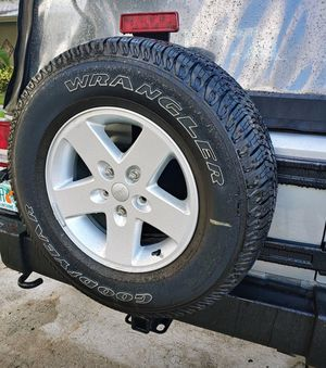 Jeep wheels spare included for Sale in Tampa, FL