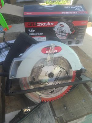 """7 1/4"""" CIRCULAR SAW with blade for Sale in Santa Ana, CA"""
