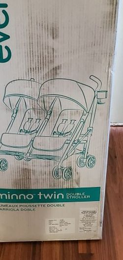 Unopened Evenflo Minno Twin Double Stroller for Sale in Flowery Branch,  GA