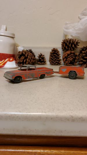 Rare 1960 chevy El Camino and trailer ,homies, general,antiques,toys, collectors for Sale in Artesia, CA