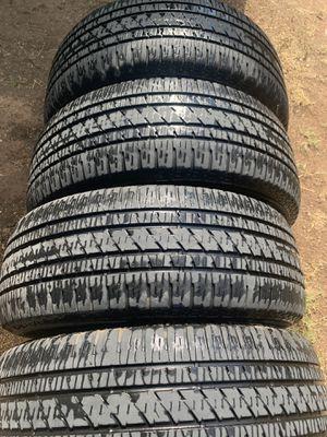 275/55r20 Bridgestone tires for Sale in Odessa, TX