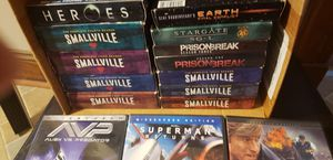 Smallville, heroes, Prison Break and star gate full season And movies for Sale in Southington, CT