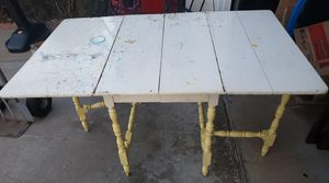 Antique Drop Leaf Dining Table for Sale in San Diego, CA