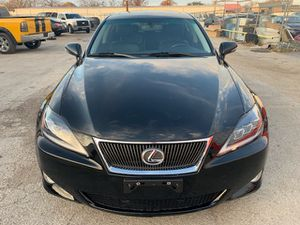 2011 LEXUS IS250 / SUNROOF/NAVI/BACK CAMERA/LEATHER/ 60K MILES/ONE OWNER/ REBUILT TITLE for Sale in Garland, TX