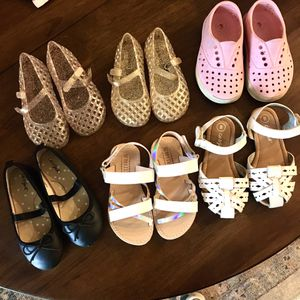 Baby / toddler girls shoes bundle for Sale in Irvine, CA
