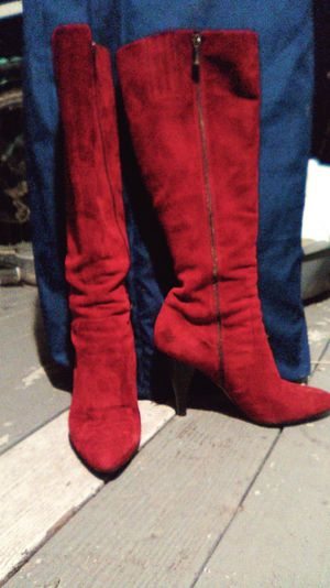 Via Spega burgundy suede knee high boots. for Sale in West Linn, OR