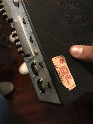 TOA 500 series amp for Sale in Boston, MA