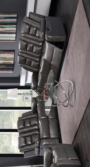 🧿BRAND NEW 🧿GT Dark Gray Reclining Living Room Set | U9702 for Sale in Jessup, MD